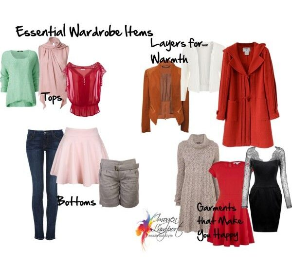 essential wardrobe items