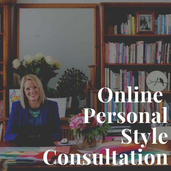 online personal styling consultation with Imogen Lamport